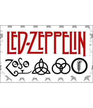 """Виниловая наклейка """"Led Zeppelin"""""""