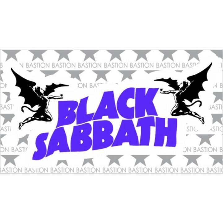 """Виниловая наклейка """"Black Sabbath"""" (5504)"""