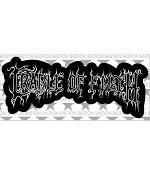 """Виниловая наклейка """"Cradle Of Filth"""""""