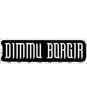 """Виниловая наклейка """"Dimmu Borgir"""""""