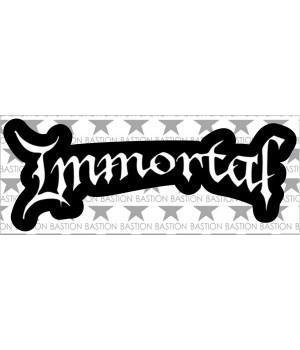 """Виниловая наклейка """"Immortal"""""""