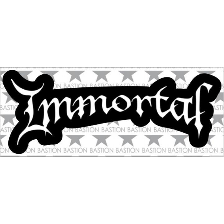 """Виниловая наклейка """"Immortal"""" (5511)"""