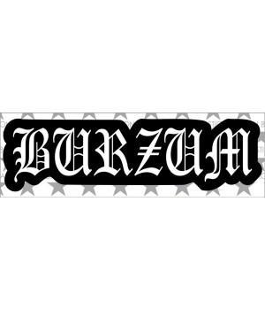 """Виниловая наклейка """"Burzum"""""""