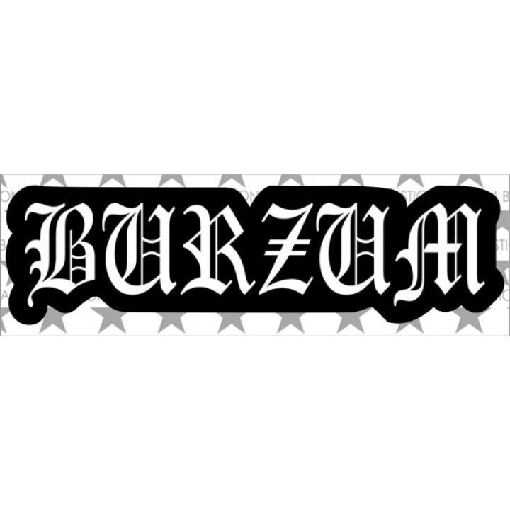 """Виниловая наклейка """"Burzum"""" (5513)"""