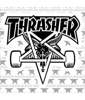 """Виниловая наклейка """"Thrasher"""""""