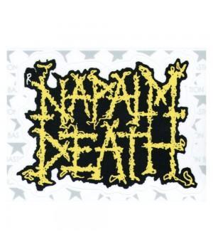 """Виниловая наклейка """"Napalm Death"""""""