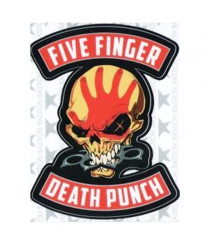 """Виниловая наклейка """"Five Finger Death Punch"""""""