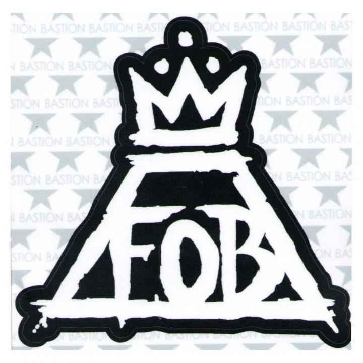 """Виниловая наклейка """"Fall Out Boy"""" (9095)"""