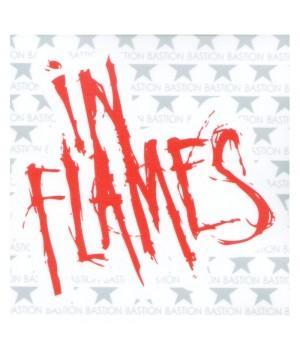 """Виниловая наклейка """"In Flames"""""""