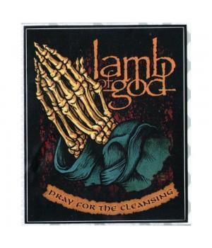 """Виниловая наклейка """"Lamb Of God"""""""