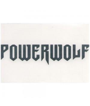 """Наклейка """"Powerwolf"""""""