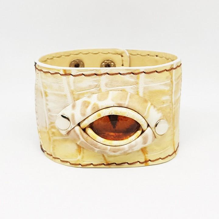 """Напульсник кожаный """"Глаз"""" (1509)"""
