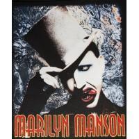 """Нашивка на спину """"Marilyn Manson"""""""
