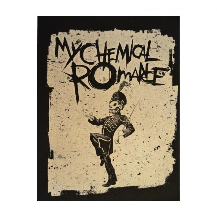 "Нашивка на спину ""My Chemical Romance"" (1300)"