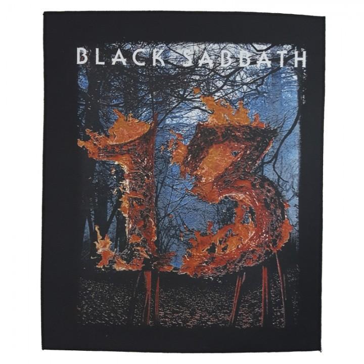 """Нашивка на спину """"Black Sabbath"""" (1282)"""