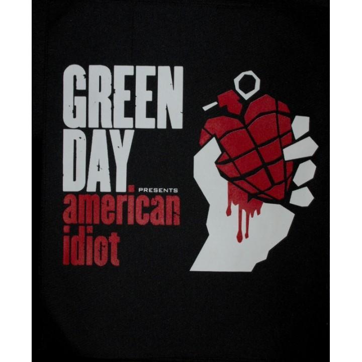"""Нашивка на спину """"Green Day"""" (1287)"""
