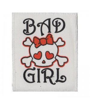 "Нашивка ""Bad Girl"""