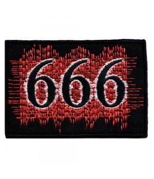 "Нашивка ""666"""