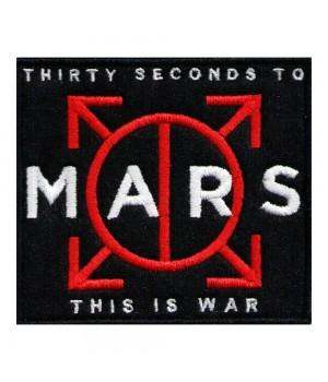 "Нашивка ""30 Seconds To Mars"""