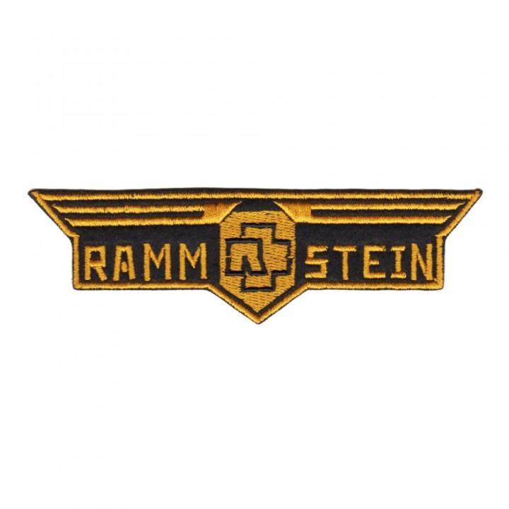 """Нашивка """"Rammstein"""" (13956)"""