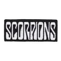 """Нашивка """"Scorpions"""""""