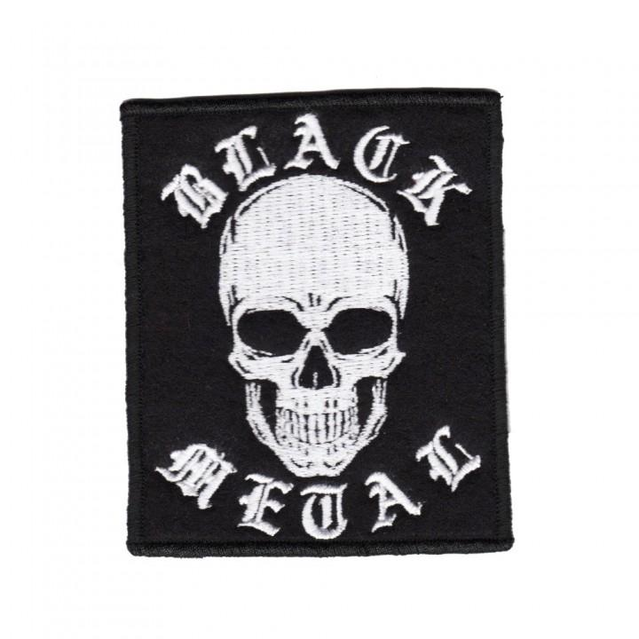 "Нашивка ""Black Metal"" (14349)"