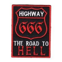 "Нашивка ""Highway 666"""