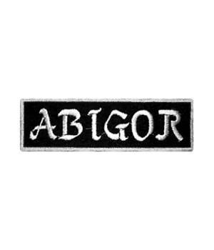 """Нашивка """"Abigor"""""""