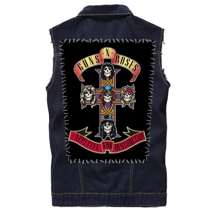 """Нашивка на спину """"Guns N' Roses"""" (12847)"""