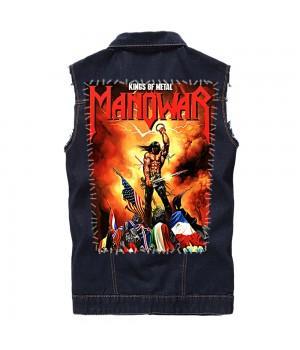 """Нашивка на спину """"Manowar"""""""