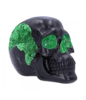 "Статуэтка ""Geode Skull Green"" 17 см"