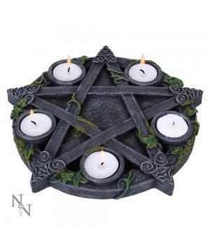 "Подсвечник ""Wiccan Pentagram"" 25.5 см"