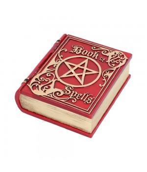 "Шкатулка ""Book of Spells Red"" 15.5 см"
