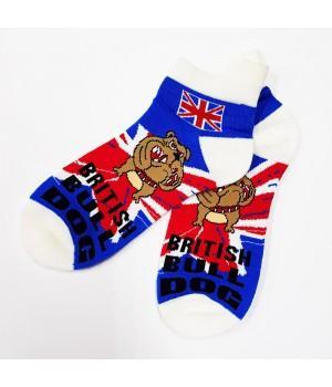 "Носки ""British Bulldog"" короткие"