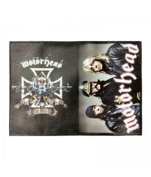 "Обложка на паспорт ""Motorhead"""