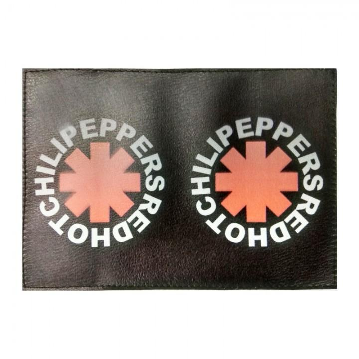 """Обложка на паспорт """"Red Hot Chili Peppers"""" (2148)"""