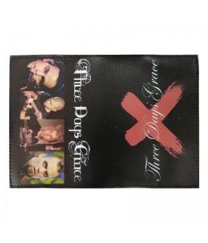 "Обложка на паспорт ""Three Days Grace"""