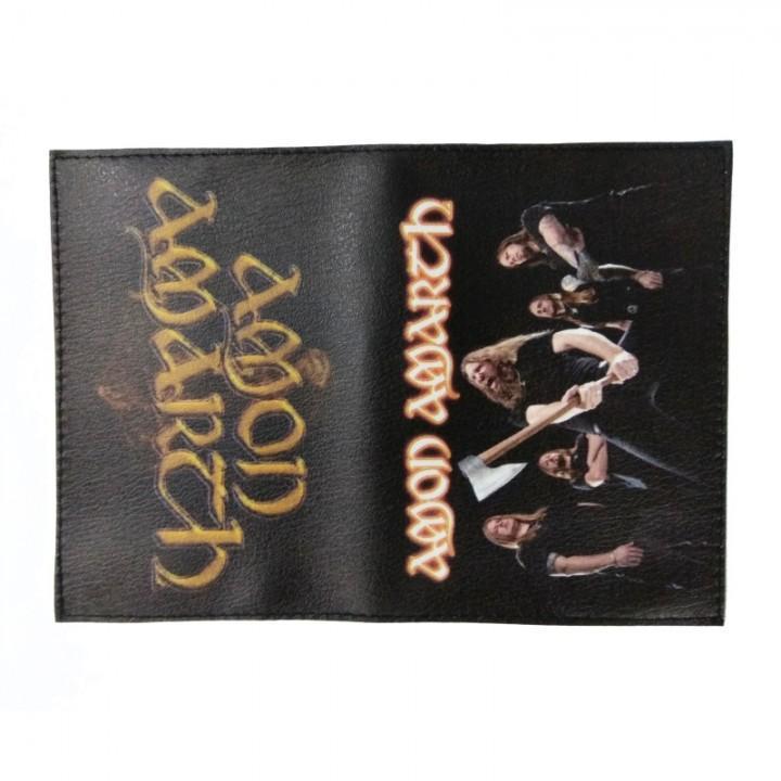 "Обложка на паспорт ""Amon Amarth"" (2132)"