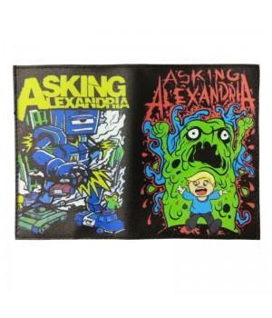 "Обложка на паспорт ""Asking Alexandria"""