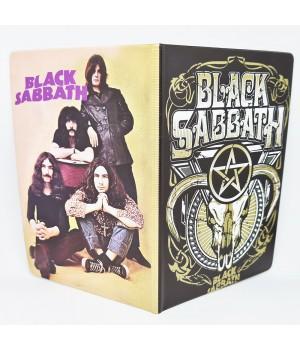 "Обложка на паспорт ""Black Sabbath"""