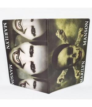 "Обложка на паспорт ""Marilyn Manson"""