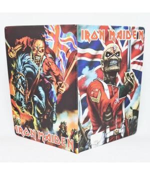 """Обложка на паспорт """"Iron Maiden"""""""