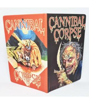 "Обложка на паспорт ""Cannibal Corpse"""