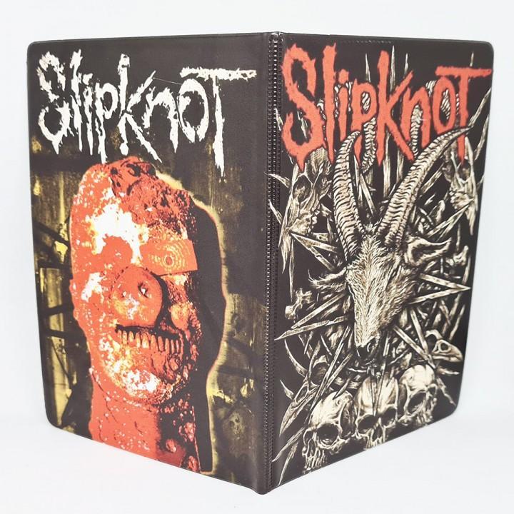 """Обложка на паспорт """"Slipknot"""" (17339)"""