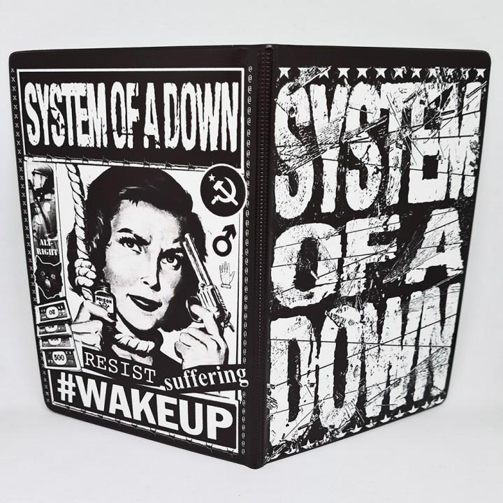 "Обложка на паспорт ""System Of A Down"" (17340)"