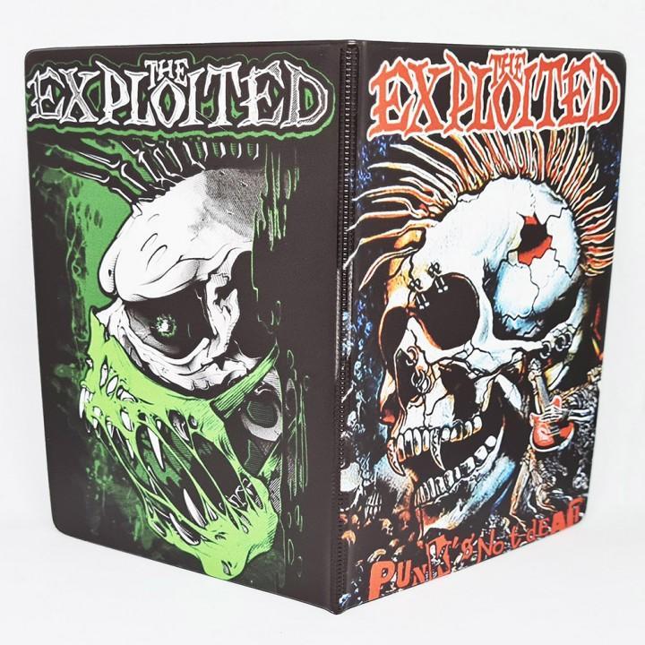 "Обложка на паспорт ""The Exploited"" (17344)"