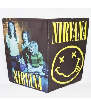 "Обложка на паспорт ""Nirvana"""