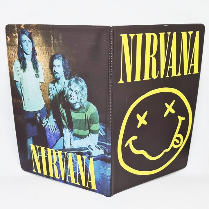 "Обложка на паспорт ""Nirvana"" (2124)"