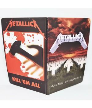 "Обложка на паспорт ""Metallica"""