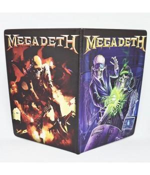 """Обложка на паспорт """"Megadeth"""""""